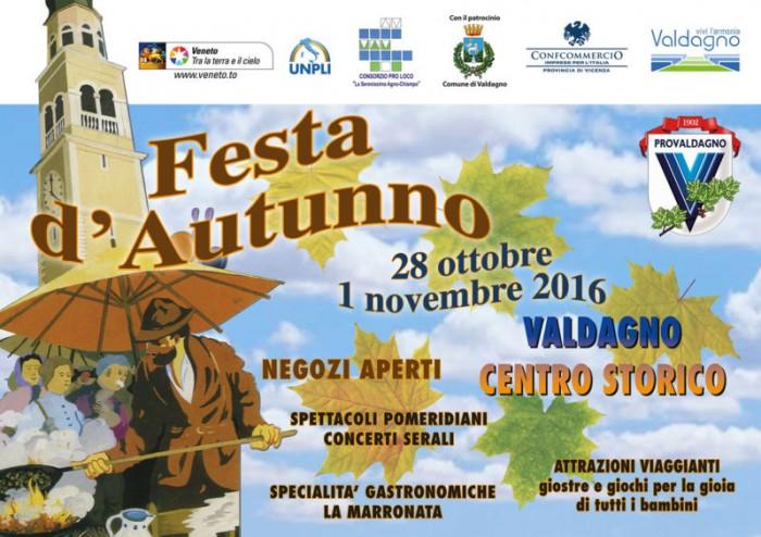FESTA D'AUTUNNO 28 OTTOBRE 01 NOVEMBRE 2016